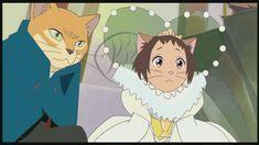 Haru was so cute as a cat-humanoid!!!  The Cat Returns (2002)