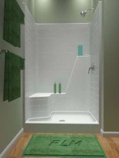 One Piece Tub And Shower Units Bathroom Pinterest Shower - One piece tub shower units