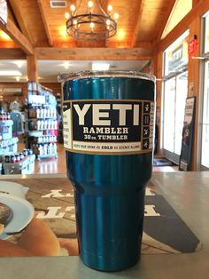 Yeti Rambler 30 ounce - Custom Powder Coated BlueTumbler *Powder Coating Process is applied by Patriot Jacks Outfitters / not Yeti Coolers. *Any warranty issues will be warrantied by Patriot Jacks Out