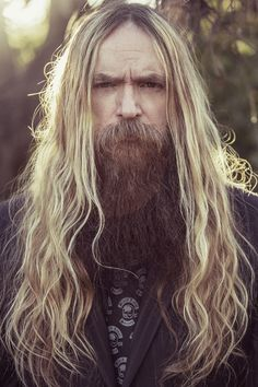 "Zakk Wylde (Black Label Society) - Born 1967 in Bayonne, New Jersey, 6'2"", Golden Blonde Hair, Blue Eyes"