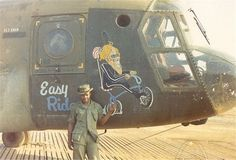 This Vietname Helo was named 'Easy Rider'.