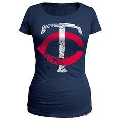 Minnesota Twins PLUS SIZE Missy Slub T-shirt by 5th & Ocean - MLB.com Shop