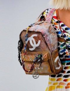 Chanel backpack. I must have this!!