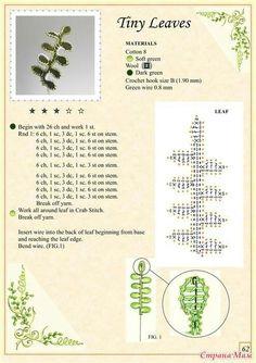 pagina 62 tiny leaf ( klein blad)