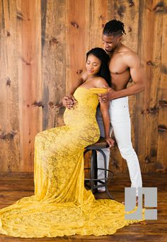 James Hill Photography provides maternity & newborn photography in Atlanta as well as family portraits and senior pictures. Maternity Gowns, Maternity Portraits, Maternity Session, Family Portraits, Yellow Gown, Yellow Lace, Dress For You, Family Photographer, Baby Photos
