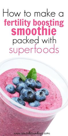 This Fertility smoothie works! It is super delicious and packed with fertility superfoods. I drank it almost every day when trying to get pregnant. This is a great addition to the fertility diet I am doing.