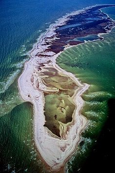 Petit Bois Island, Gulf Islands National Seashore, Mississippi - I spent many summers on this magnificent island! There is no power or running water, but roughin' it was never more fun : )