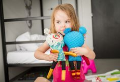 kids love fubbies - toys in fusion hotel prague. Made by Břichopas toys.