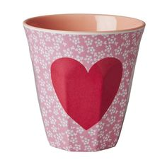 Melamine Print Cup- Hearts