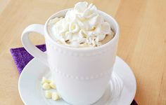 Swap out Starbucks' high-calorie White Mocha for the HG version and save over 200 calories and HALF the fat!