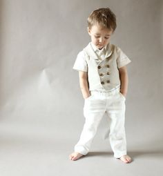 Hey, I found this really awesome Etsy listing at https://www.etsy.com/listing/192777413/baby-boy-natural-linen-pants-baby
