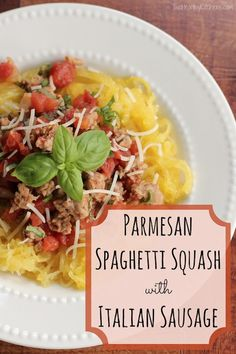 People LOVE this recipe for spaghetti squash! Everyone is shocked how delicious it is! Quick, easy and healthy - a must try!