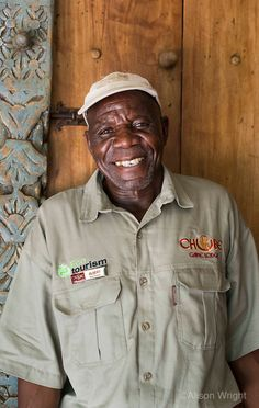 Botswana, Kasane, Chobe National Park, Chobe Game Lodge. Albert Ndereki, 62, a longtime employee, leads an eco-tour that takes guests behind the scenes, into the kitchen, laundry room and other places a tourist would never normally visit.
