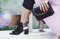 And you gotta find the most comfy pair for summer, so we got you these double buckle block heels Stylish Sandals, Truffles, Shoes Online, Block Heels, Comfy, Pairs, India, Boots, Summer