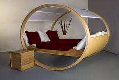 If I don't like a design, I usually don't write about it. But in the case of the Private Cloud bed, I think there are some functional elements that may have been overlooked. The Private Cloud, or something liike it, could be improved to be really ergonomic and help you sleep too.