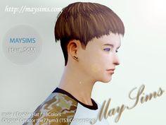 Mayims: Sims 4 Hair - May_TS4_56M