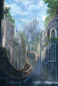 anime castle - Google Search