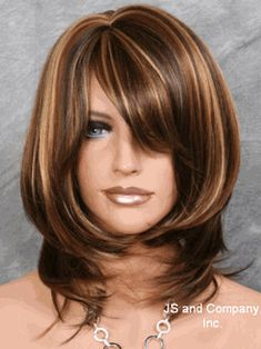 Best Ombre Hair Color Ideas For Stylish Girls Haircuts For Medium Hair, Medium Layered Haircuts, Medium Hair Cuts, Medium Hair Styles, Short Hair Styles, Hair Color Highlights, Ombre Hair Color, Hair Color Balayage, Short Hair With Layers