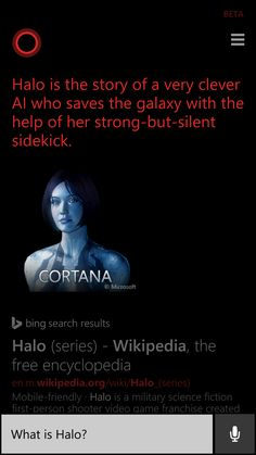 Cortana being cheeky