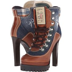 Ankle Boot Women's Lace-up Boots Blue Ankle Boots, Women's Lace Up Boots, Lace Up High Heels, Black High Heels, High Heel Boots, Ankle Booties, Bootie Boots, Men's Boots, Cowgirl Boots