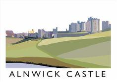 Alnwick Castle print