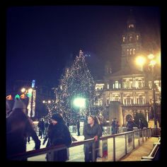 Christmas in George Square, Glasgow