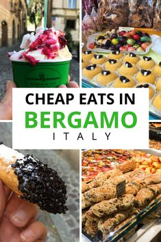 When visiting Italy, you can still eat to your heart's content and be easy on your wallet with these cheap places to eat in Bergamo, Italy. #traveltipscheap #visitingitaly