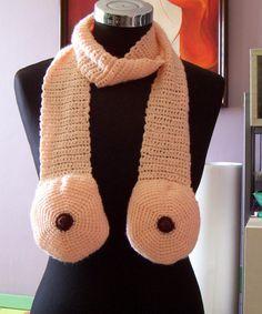 Boob scarf. Need.