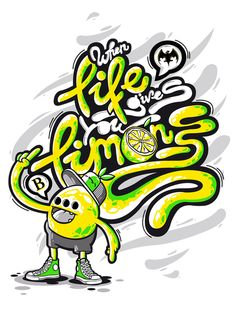 When life gives you limons! by DXTR , via Behance