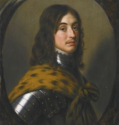Gerrit van Honthorst PORTRAIT OF MAURICE, PRINCE PALATINE , 1621 oil on panel  62.3 by 58.5 cm.; 24 1/2 by 23 in