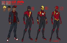 Kid Flash 02, design di Jonboy Meyers