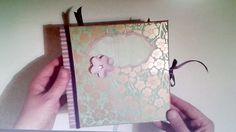 Mini álbum scrapbooking ocasión especial