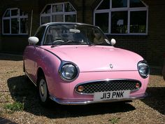 Pink Car ☆ Girly Cars for Female Drivers! Love Pink Cars ♥ It's the dream car for every girl ALL THINGS PINK!