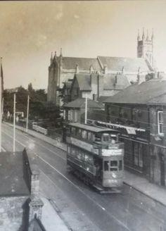 Blackrock church Co Dublin. Old Images, Old Pictures, Old Photos, Gone Days, Dublin City, Dublin Ireland, England Uk, Buses, Old School