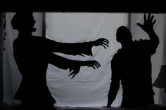 Something wicKED this way comes....: Sinister Silhouettes Lurk in The Wicked Woods!
