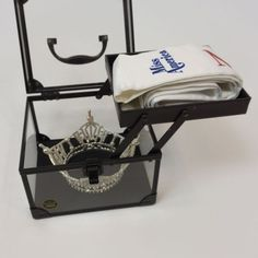 The Essential Crown Box is a necessity for any pageant titleholder on the move. This box was specifically designed for the pageant titleholder. Miss Independent, Pageant Crowns, The Crown, Beauty Queens, Beauty Nails, Sash, Protective Cases, Essentials, Pageants
