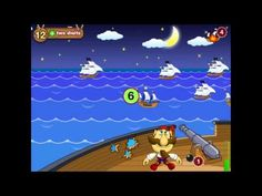 "▶ ""Math & Smart Pirates. SeaFight. 1st and 2nd Grade"" App for kids iOS, Mac - YouTube"