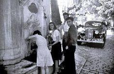 İstanbul Emirgan çeşmesi 1950'ler