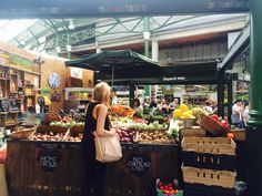 The food hound's favourite market is also London's oldest, dating back to the 13th century. It's the busiest too, occupying a sprawling site n