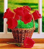 Ravelry: Crochet Flowers pattern by Country Woman..attach these flowers to dowels for a summer bouquet..free pattern!