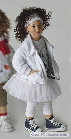 Tabea 2011 resin doll by  by Hildegard Gunzel