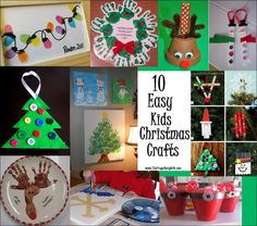 christmas crafts preschoolers can make