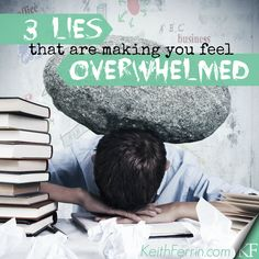 Feeling #overwhelmed is not the exception these days. It's the rule. (Heavy sigh.) Here are my thoughts....