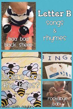 Letter B: Songs & Rhymes