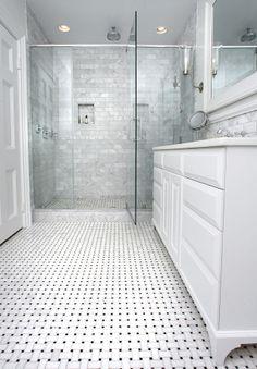 Signature Renovation - like the shower tile