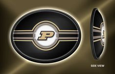 Shop Grimm Purdue Boilermakers Slimline LED Wall Sign Featuring Their Motion P Athletic Logo - Made in USA (Oval) Bmw Logo, Buick Logo, Illuminated Signs, Purdue University, Led Technology, Wall Signs, 5 D, Man Cave, Logos