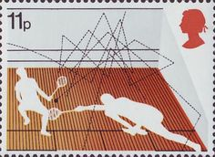 Commemorative stamp by Andrew Restall (1977) #SquashStamps