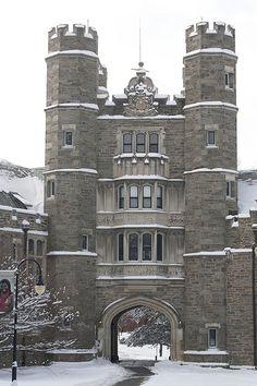 Bryn Mawr College, aka Hogwarts
