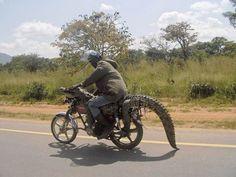 Moto Honda Lacoste