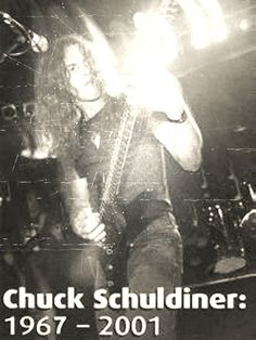 Chuck SChuldiner Death band, Tampa, Florida, Death Metal